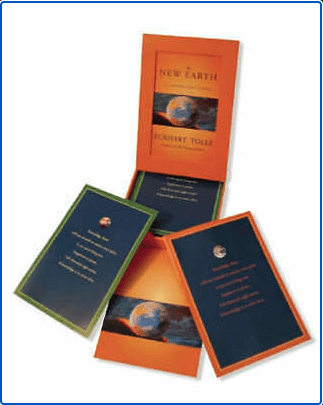 A New Earth Card Deck by Eckhart Tolle