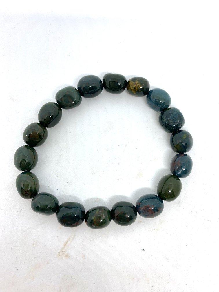 Bloodstone Crystal Bracelet